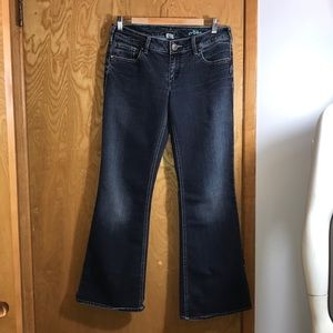 Silver AIKO Jeans
